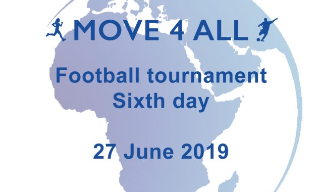 Football tournament: sixth day